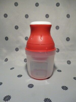 Tupperware Juist Juicer 500ml Red New!