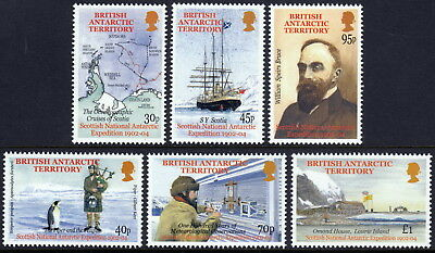 British Antarctic Territory 2002 Scottish National Antarctic Expedition