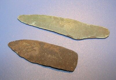 ANCIENT BRONZE KNIVES. The approximate age is 3000 years. ORIGINAL.