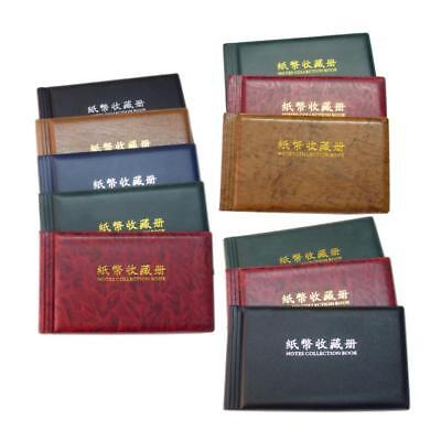 20 Pages Paper Money Currency Banknote Collection Storage Album Folders