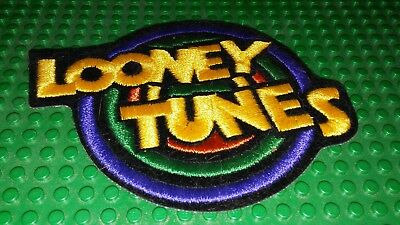 LOONEY TUNES cartoon WB Iron on Patch Embroidered Logo
