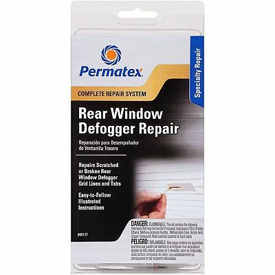 Permatex 09117 Professional Quality Complete Rear Window Defogger Repair Kit