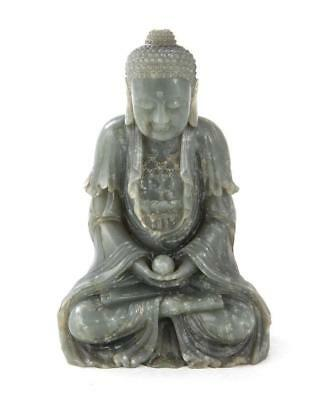 Chinese jade Buddha (2pcs) Lot 46