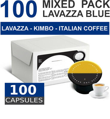Mixed pack - 100 capsules Lavazza BLUE