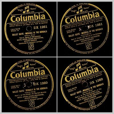 ARTHUR BLISS: Ballet Suite-Miracle in the Gorbals; Royal Opera House Orch. GS819