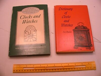 Book 281 – Lot of 2 watch and clock books
