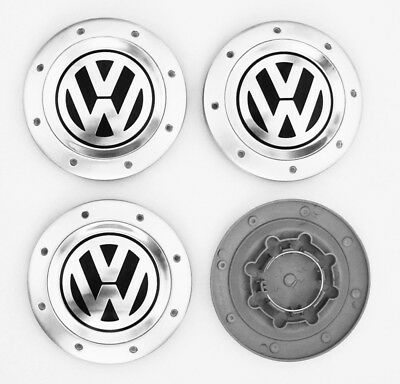 4 OEM Wheel Center Cap Emblem 1K0601149E 148mm FOR VW Golf Mk5 Touran Caddy ETC