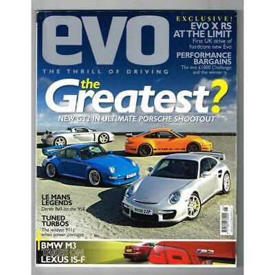 Evo Magazine No.117 May 2008 MBox3265/E The Greatest? New GT2 in ultimate Porsch