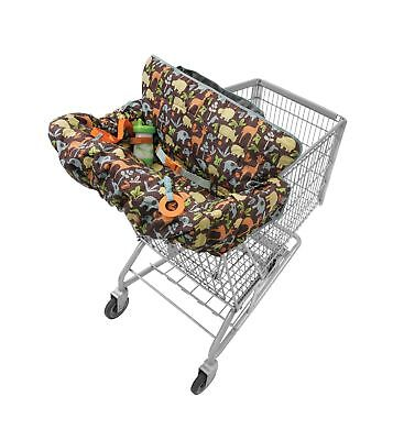 Infantino Compact 2-in-1 Shopping Cart Cover Neutral