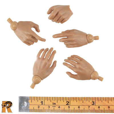 Bill the Butcher - Hands Set of 5 w/ Pegs - 1/6 Scale - Redman Action Figures