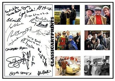 185.    Only Fools And Horses  Signed Cast   A4  Photograph  Great Gift