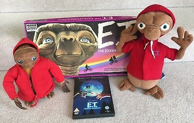 E.t Interactive -Talking -Moving Light Up & Board Game, Plush & Dvd