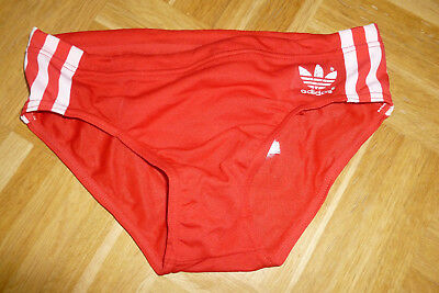 pretty cheap new high quality to buy OLDSCHOOL, VINTAGE ADIDAS Badehose Shorts rot Größe 2 @3 ...