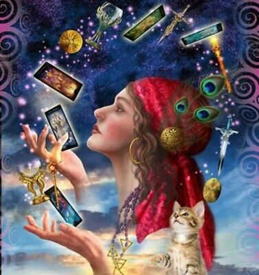 Psychic Tarot Reading Clairvoiyant  Intuitive Guidance by email.