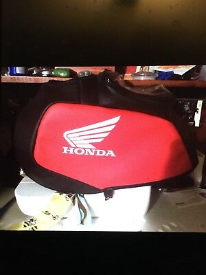 Leather Honda Gas Tank Cover For 80s Honda 250r Xl250r Etc