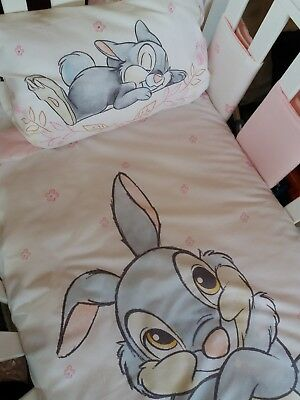 Beautiful thumper  cot cotbed bumper set bar wraps  quilt and pillow