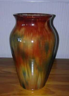 Vintage ~ Ewenny Pottery  ~Vase..~ Welsh Pottery. ~ Autumn Colours