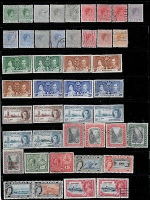 Bahamas,Small Collection(3),MH+Used