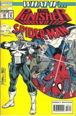 What If #58 The Punisher Had Killed Spider-Man Vol.2 Vf/nm