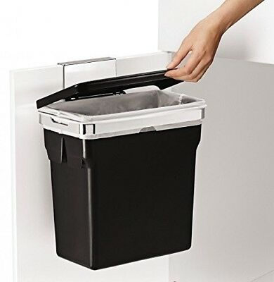 Kitchen Trash Can In Cabinet Door Mount Hanging Garbage Container Heavy Duty