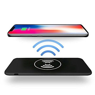 Qi Wireless Charging 10000mAh Power Bank For iPhone X/8/8 Plus Galaxy s8/s8 Plus