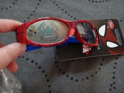 Disney Spiderman 100% UV Protection Sunglasses Ages 3+ NWT