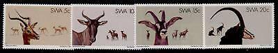 South West Africa 443-6 MNH Animals, Impala, Antelope
