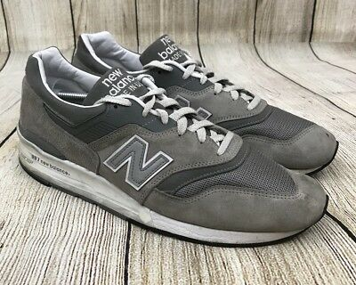 huge selection of fda70 a35a9 NEW BALANCE NB M997GY M997 997 Encap Made in the USA Gray/White Men's 13
