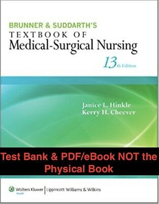 Brunner and suddarths textbook of medical surgical nursing 13 e brunner and suddarths textbook of medical surgical nursing 13 e fandeluxe Image collections