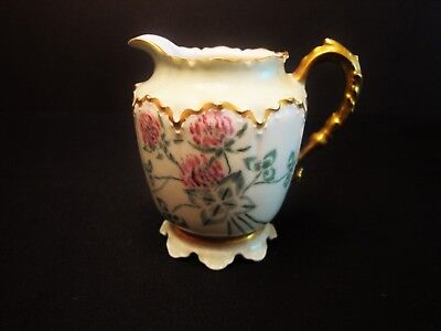 Antique Haviland & Co Limoges France Creamer Pitcher Signed