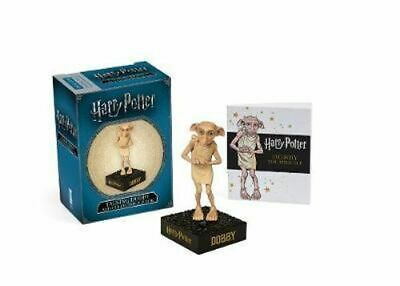 NEW Harry Potter Talking Dobby and Collectible Book By Press Running Novelty Boo