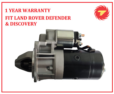 New Starter Motor For Land Rover Defender Discovery 200Tdi 300Tdi Range Rover