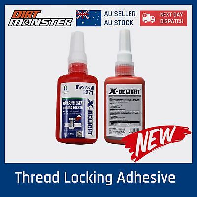 New Medium Strength Thread Screw Locker Loctite Adhesive Glue Prevent Oxidation