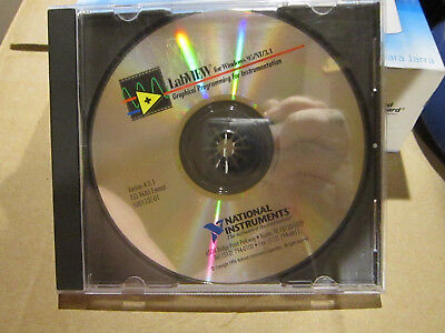 Used Software CD Labview for Windows 95/NT/3.1 Version 4.0.1