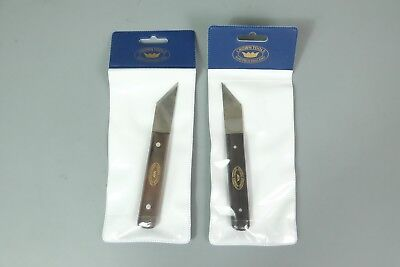 Made In Uk Crown Pair Right & Left Hand Marking Striking Knives