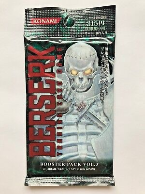 Brand New Very Rare 2004 BERSERK TRADING CARD GAME BOOSTER PACK VOL.3 Japanese