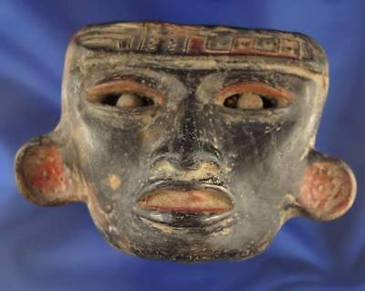 Fine Teotihuacan Mask, Precolumbian, Mayan Aztec MAKE AN OFFER
