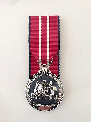 Australian defence medal, Replica, Court Mounted. ADM