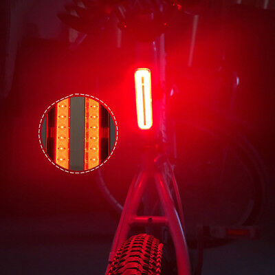 Bicycle Bike Cycle LED 4-Mode Red Rear Tail Back Light Lamp for Riding Safety