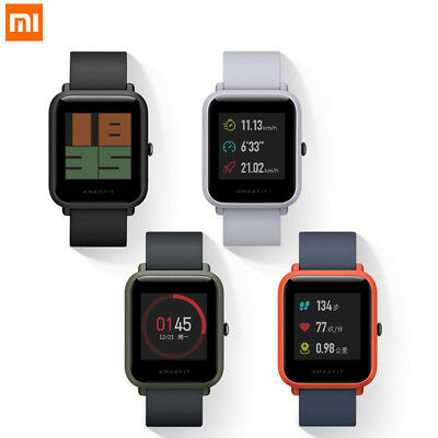 Xiaomi Huami Smart Watch Youth Edition Bluetooth Heart Monitor Global Version