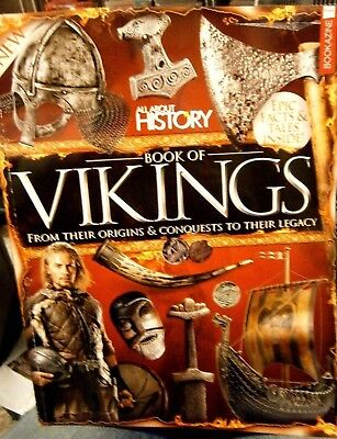 All About History Bookazine Of Vikings (new) 2017