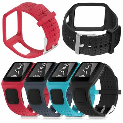 Replacement Silicone Wrist Band Strap ForTomTom Runner 2 3 Spark 3 GPS Watch IT