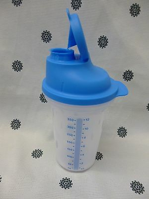 Tupperware Ez Shaker 350ml Blue Quick Shake Protein Shaker Milk Shake New