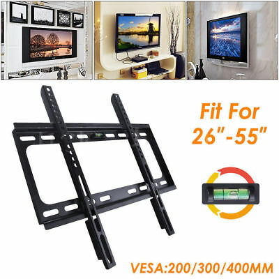 TV Bracket Wall Mount Slimline Tilting LCD LED 26 40 42 46 50 52 55 Inch AU SHIP