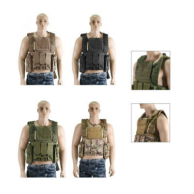 Military Tactical Vest Paintball Jacket Swat Airsoft Army Combat Waistcoat Style
