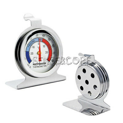 Stainless SteelTemperature Refrigerator Freezer Dial Type Thermometer