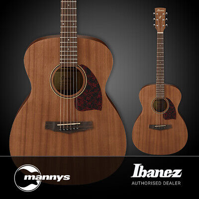 Ibanez PC12MH Acoustic Guitar Sapele Top Sapele Back & Sides (Open Pore Natural)