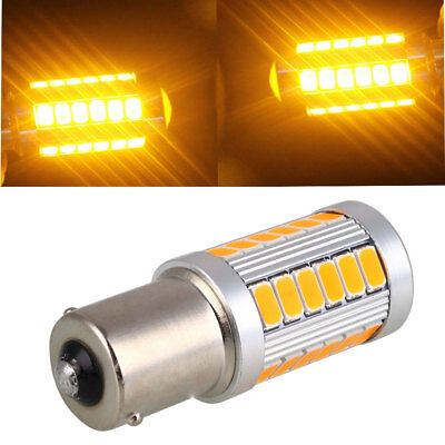Daytime Running Light Reverse Lamp Durable BA15S 1156 33 SMD Rear Beads Auto