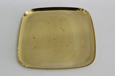 Vintage Bowl/Tray Brass Messing Schale/Tablett 50er 60er 50s 60s Design