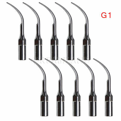 10 × Ultrasonic Scaling Scaler Insert Tip G1 for EMS WOODPECKER Handpiece LL-D3